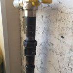 Угловой газовый кран